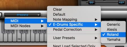 Logic + Superior Drummer + V-Drum - Logic Pro Help